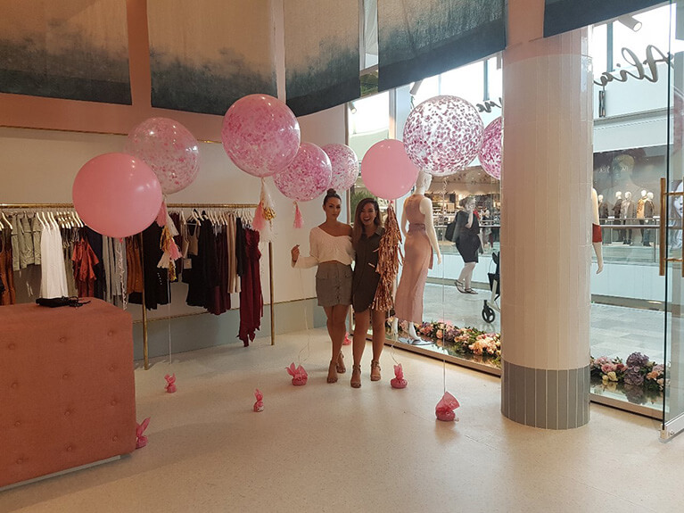 60cm Tissue Confetti Balloons with Tassels