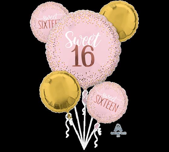 Sweet 16 Pink & Gold