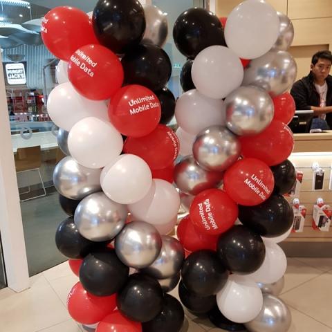 Spiral Columns @ Vodafone