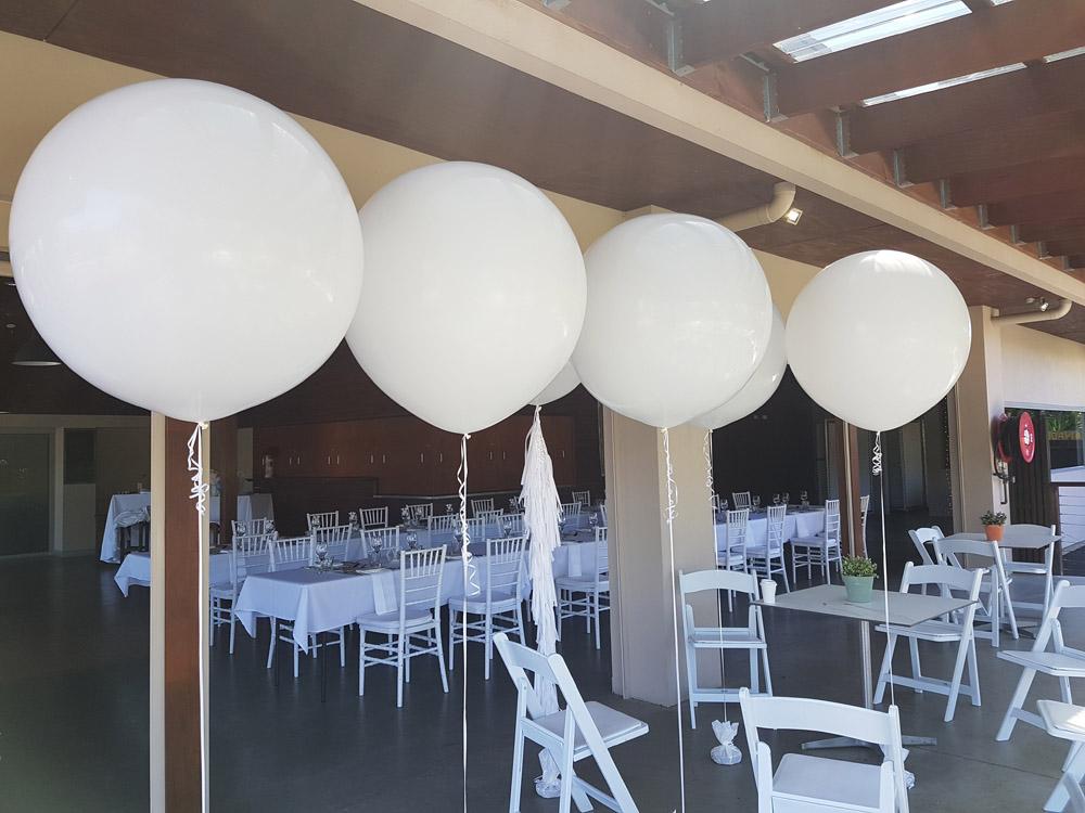 White 60cm Balloons