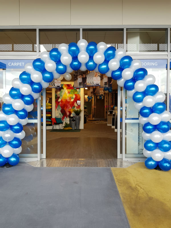 Stacked Balloon Arch