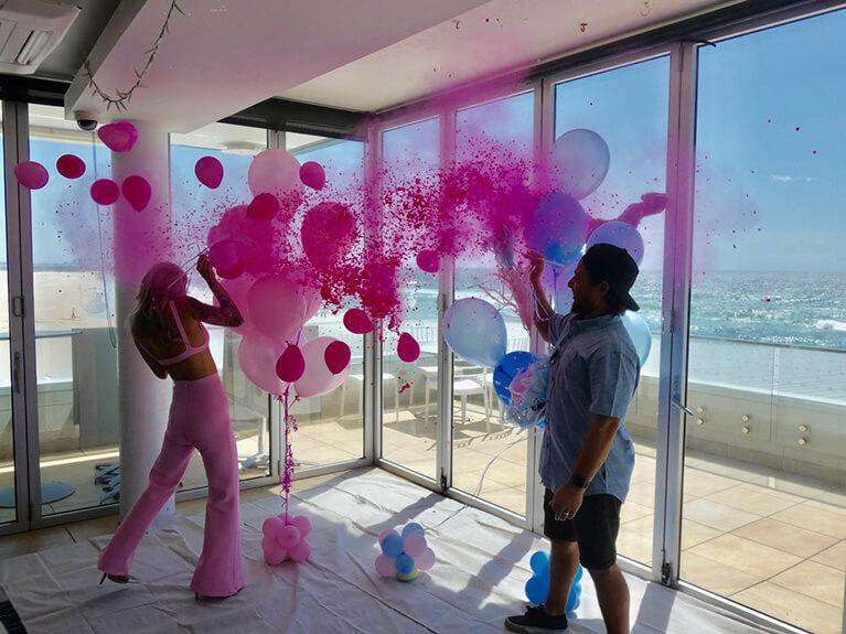 Girl Gender Reveal Balloon