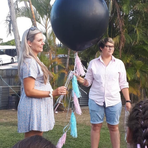 Gender Reveal Balloon