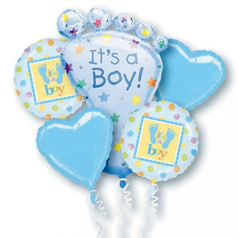 Its a Boy Foot Bouquet