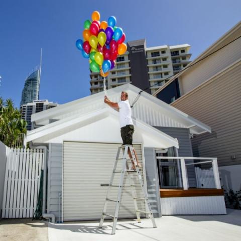 Loose Helium Balloons