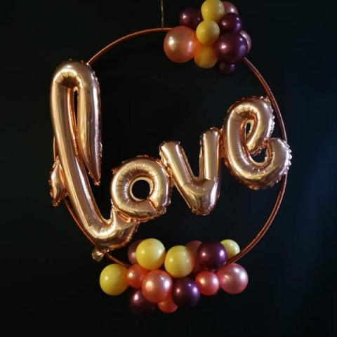 Organic Love Hoop