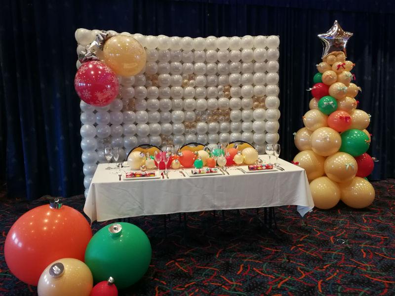Christmas Organic Balloons