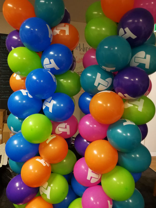 Custom Printed Balloon Columns