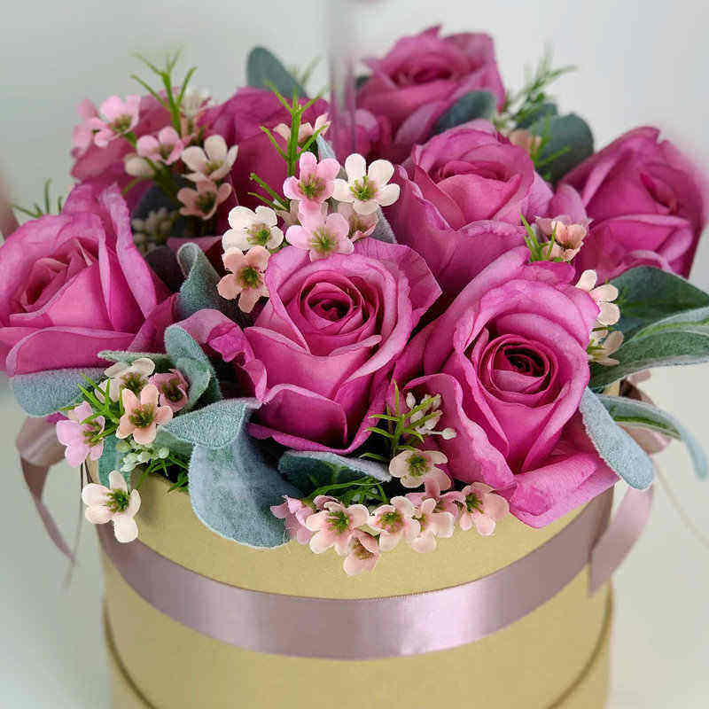 Mauve Forever Roses