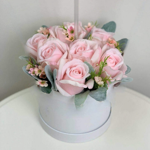 Pastel Pink Forever Roses